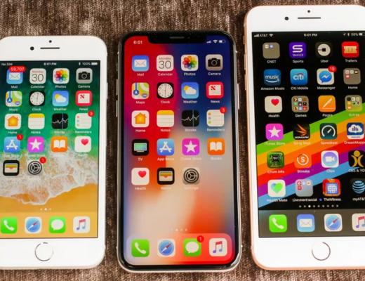 nullstille iPhone 6, 7, 8 eller X