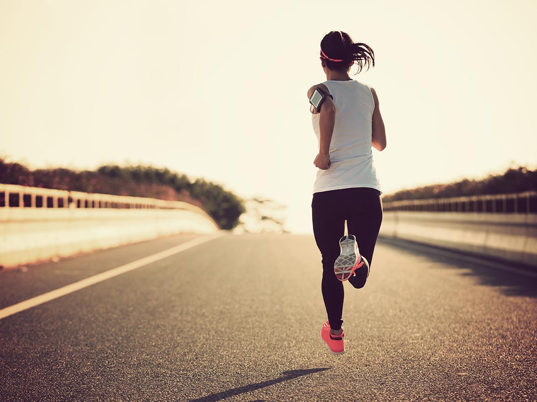 løping
