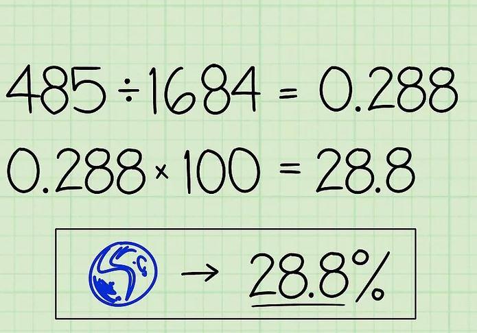 Enkel beregning av prosent