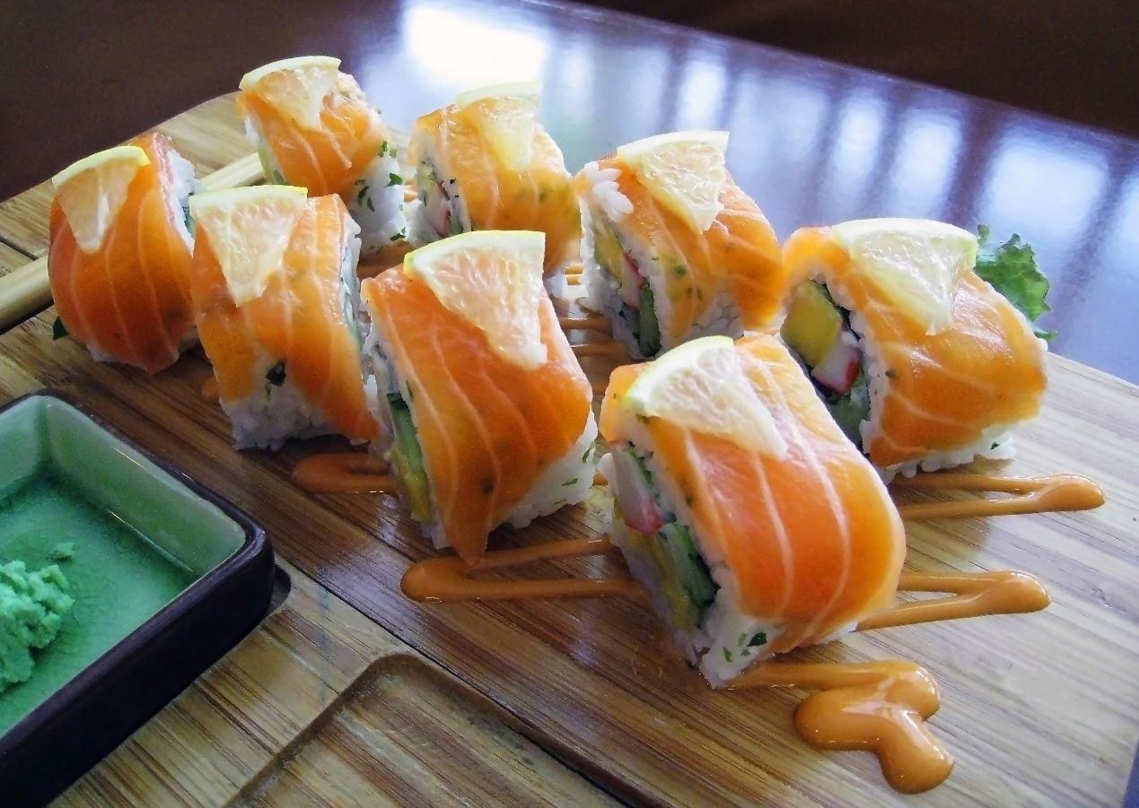 Internasjonal sushi