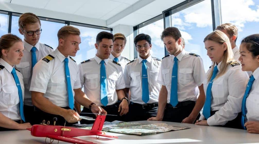 Utdanning for å bli pilot