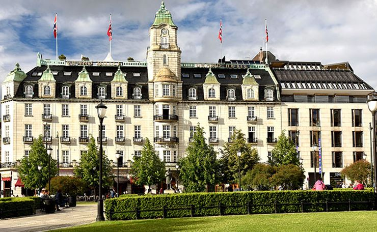 the grand hotel - hotellene i Oslo